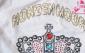 品牌库存KONZEN空间 长袖T恤 镶宝石女王皇冠
