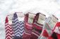 隆重登场日本外贸原单无印良品女士花色保暖休闲羊毛长袜子