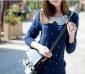 VIP批发2012秋装日系甜美娃娃领 韩版 女式毛衣 秋季外套 针织衫